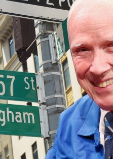 Bill Cunningham's  Secret Memoir!