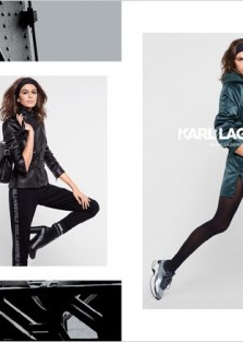 Kaia Gerber Models Karl Lagerfeld Fall Winter 2018.19 Collection