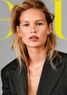 Anna Ewers for Vogue Germany October 2018 by Giampaolo Sgura
