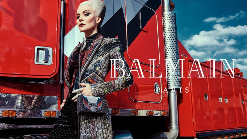 Epic Balmain fall-winter 2018 campaign by An Le