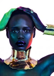Ajak Deng for Vogue Portugal April 2019 issue by  Jamie Nelson