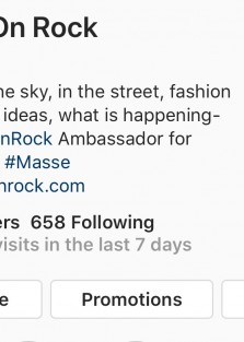 Follow Fashion On Rock on Instagram!