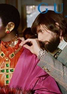 Gucci's Prêt À Porter Fall Winter 2019.20 advertising by  Glen Luchford.