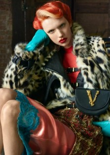 Versace Fall Winter 2019 2020 by Steven Meisel