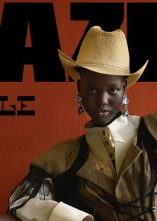 Stunning Adut Akech for Dazed Magazine by Viviane Sassen