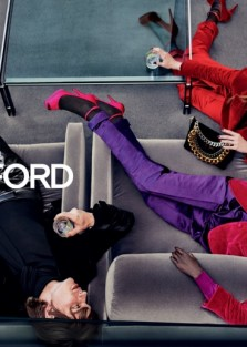TOM FORD FALL 2019 CAMPAIGN BY  Steven Klein